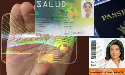 هولوگرام کارت شناسایی