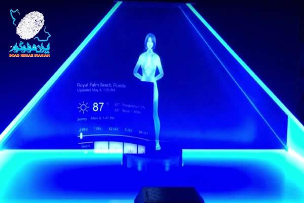 علم ساخت هولوگرام سه بعدی