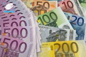 هولوگرام امنیتی اسکناس یورو