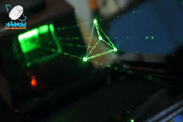 استفاده از نور لیزر در تولید هولوگرام