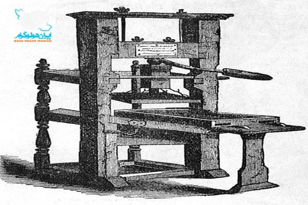 دستگاه چاپ گوتنبرگ
